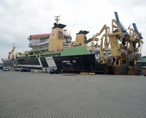 annelies ilena, visserschip, hektrawler, parlevliet en van der plas, pelagische visserij