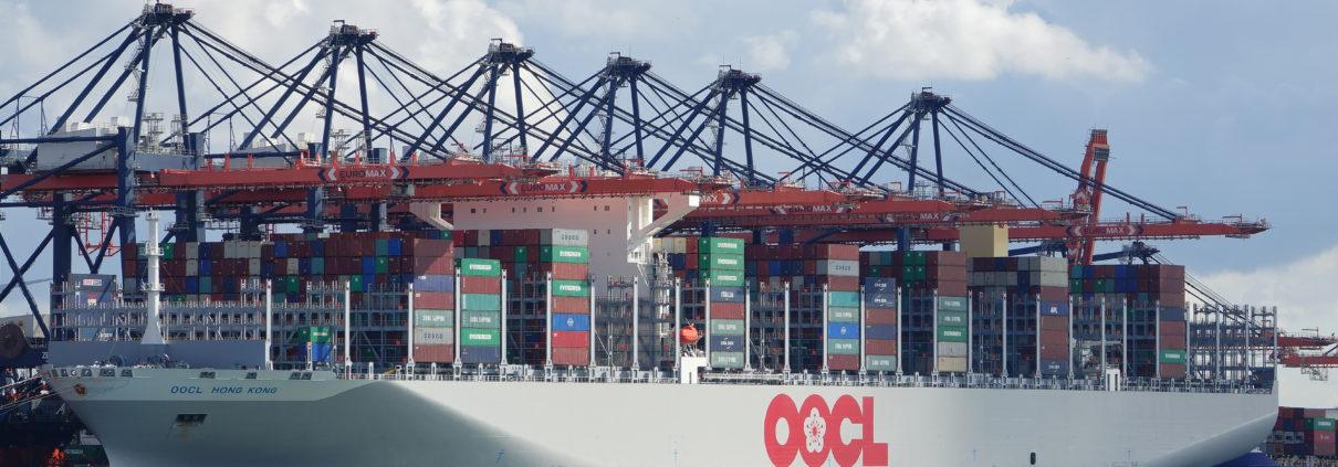 oocl, containerschip, koopvaardij,