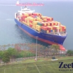 containerschip crash UA